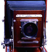 Deardorff 8x10 View Camera Art Print by Joseph Mosley