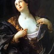 Death Of Cleopatra 1598 Art Print