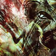 Death-stalker Art Print