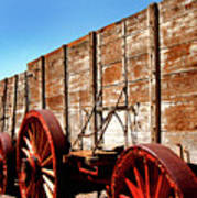 Death Valley Borax Wagons Art Print