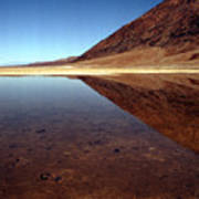 Death Valley Lake Art Print