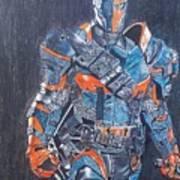 Deathstroke Illustration Art Art Print