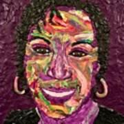 Deb A Self Portrait Art Print