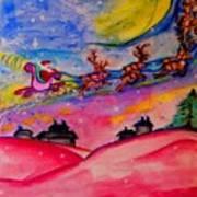December 24th Art Print by Helena Bebirian