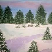 December Afternoon Art Print