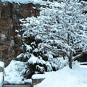 December Snows Art Print