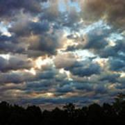 Deceptive Clouds Art Print