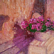Deck Flowers #2 Art Print