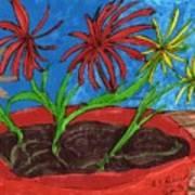 Deck Plant Art Print