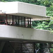 Deck View Fallingwater  Art Print