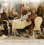 Declaration Committee 1776 Art Print