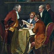 Declaration Committee Art Print