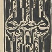 Decorative Design, Carel Adolph Lion Cachet, 1874 - 1945 H Art Print