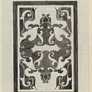Decorative Design, Carel Adolph Lion Cachet, 1874 - 1945 Jd Art Print