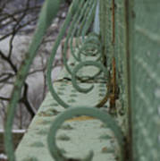 Decorative Foot Bridge Art Print