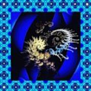 Decorative Fractal Tile 3 Art Print