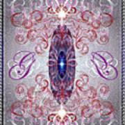 Decorative No8 Art Print