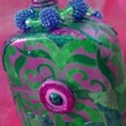 Decorative Pink Bottle Art Print