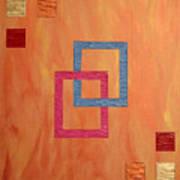 Decorative Squares Art Print