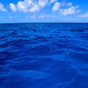 Deep Blue Ocean Art Print