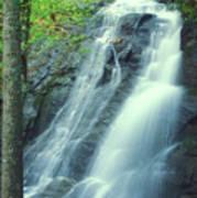 Deep Creek Falls Smoky Mountains Art Print