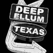 Deep Ellum Texas Art Print