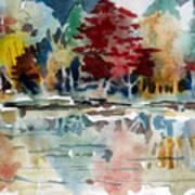 Deep Into Autumn Art Print