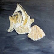 Deep Ocean Seashells Art Print by Leslye Miller