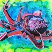 Deep Sea Hunt Art Print