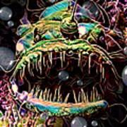 Deep Sea Monster Fish Art Print
