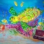 Deep Sea Treasures Art Print