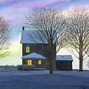Deep Snow 2003 Art Print