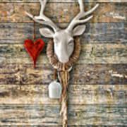 Deer Heart - Hirschherz Art Print