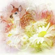 Deer One Art Print