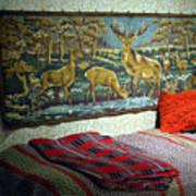 Deer Room Art Print