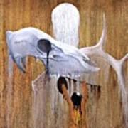 Deer Song Art Print