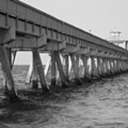 Deerfield Beach Pier Art Print