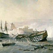 Defence Of The Havana Promontory  Print by Rafael Monleon y Torres