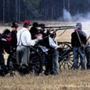 Defending The Artillery Art Print