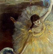 Degas: Arabesque, 1876-77 Art Print by Granger