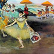 Degas: Dancer, 1878 Art Print