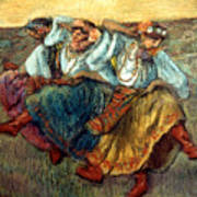 Degas: Dancing Girls, C1895 Art Print