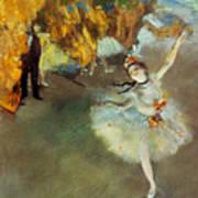 Degas: Star, 1876-77 Art Print