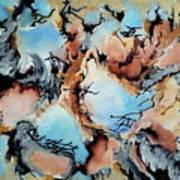 Degenerated Manifesto Of Vanishing Sky Art Print