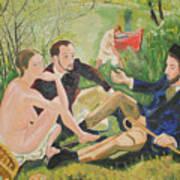 Dejeuner Sur L'herbe Art Print