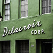 Delacroix Corp., New Orleans, Louisiana Art Print