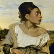 Delacroix: Orphan, 1824 Art Print by Granger