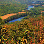 Delaware River From The Appalachian Trail Art Print