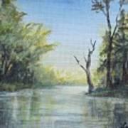 Delaware River  Art Print
