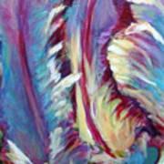 Delic Parrot Art Print